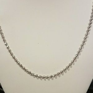 "Jewelry - .925 Sterling silver 18"" 3mm Ball Chain"